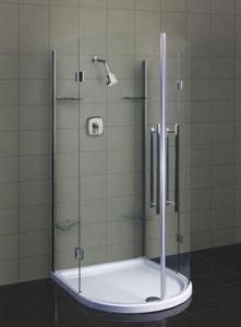 Kabiny prysznicowe wycinek koła
