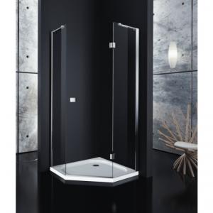 Kabiny prysznicowe pięciokątne